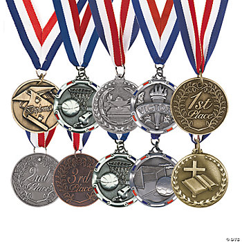 Personalized Engraved Medals