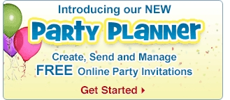 Create FREE online invitations with our party planner!