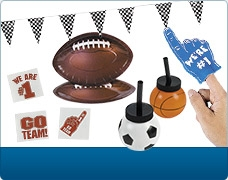 Shop Sports Party Supplies