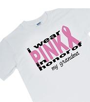 Personalized Pink Ribbon