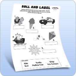 Roll & Label Game