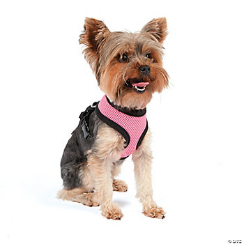 Mesh Dog Harness - Pink MD