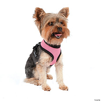 Mesh Dog Harness - Pink XS