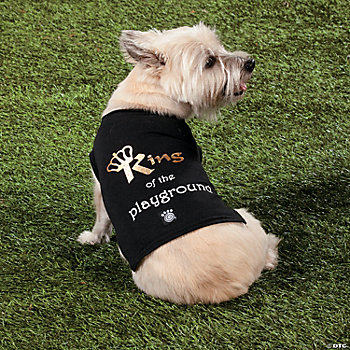 """King of the Playground"" Boy's Dog Shirt"