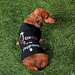 """Queen of the Playground"" Girl's Dog Shirt - XS"