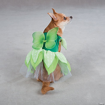 GREEN FAIRY TAILS DOG COSTUME - MD