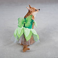 GREEN FAIRY TAILS DOG COSTUME - XS