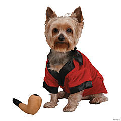 PARTY HOUNDS SMOKING JACKET W/ TOY