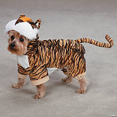 TIGER DOG COSTUME - LG