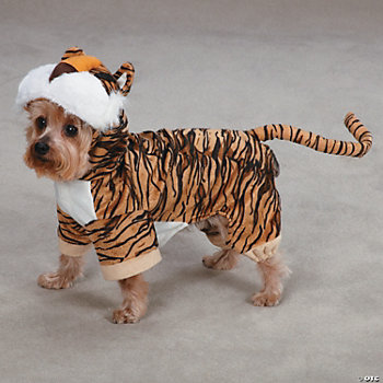 TIGER DOG COSTUME - MD