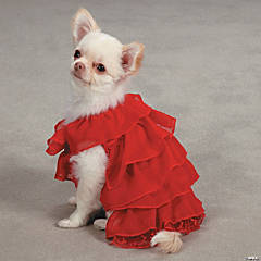 PET EDGE RUFFLE DRESS