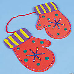 Foam Mittens Idea