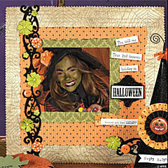 Trick or Treat Finished Page