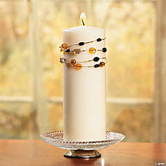 Wire-Wrapped Candle