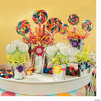 Candy Buffet Buckets Project