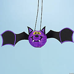 Bat Paper Lanterns Idea