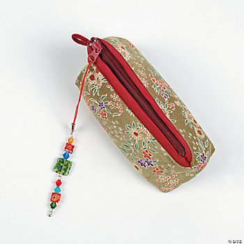 Millefiori Bead Bag Dangle Project