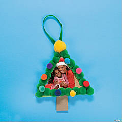 Craft Stick Christmas Trees Idea