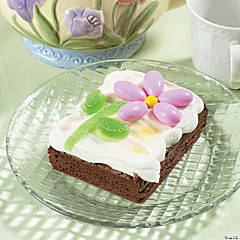 Candy Flower Easter Brownie Recipe