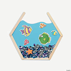 Craft Stick Aquarium