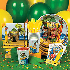Beach Monkey Party Supplies
