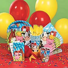 Farm First Birthday Party Supplies