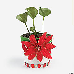 Christmas  Flower Pot