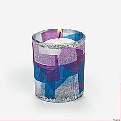Winter Votive Idea