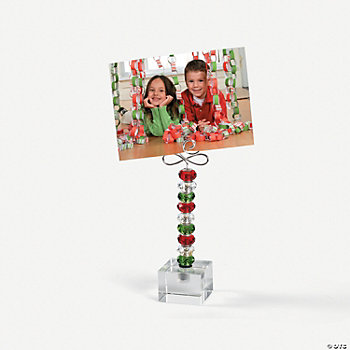 Christmas Beadable Photo Holder