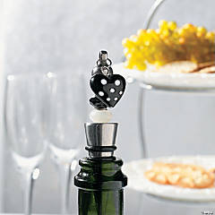 Black and White Wine Stopper