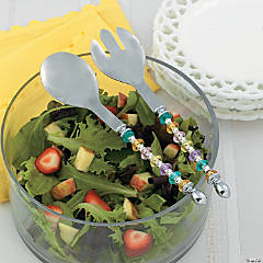Spring Salad Serving Set Idea