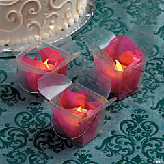 Tea Light Take Out Boxes Idea