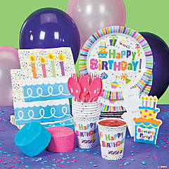 Birthday Celebration Party Supplies
