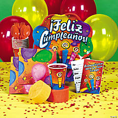 Feliz Cumpleaños Party Supplies
