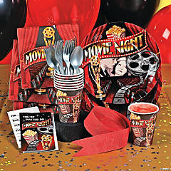 Movie Night Party Supplies