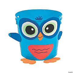 Owl Bucket Idea