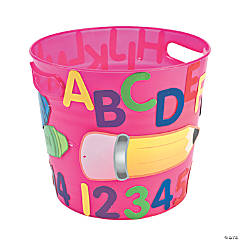 Teacher Fun Bucket Idea