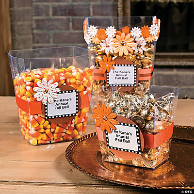 DIY Fall Candy Containers