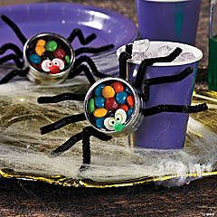 Silly Spiders Candy Containers Idea