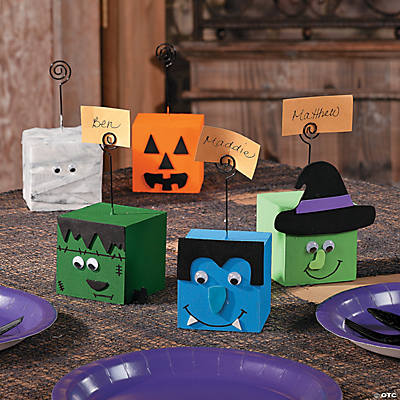 Halloween Faces Placeholders