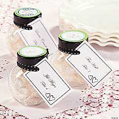 Favor Placecard Jars Idea