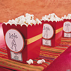 Stamped Popcorn Boxes Idea