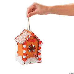 Candy Cane Birdhouse Idea