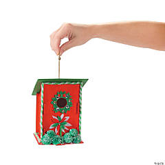 Wreath Birdhouse Idea