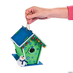 Snowman Birdhouse Idea