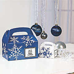 Snowflake Favor Boxes Idea