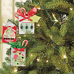 Christmas Ornament Bags Idea