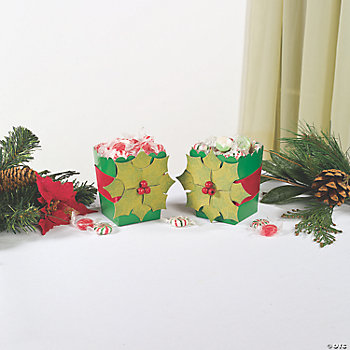 Holly Leaf Popcorn Boxes