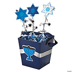 Hanukkah Candy Bucket