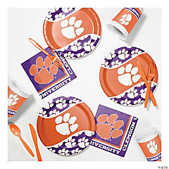 NCAA™ University Clemson Tigers® Party Supplies